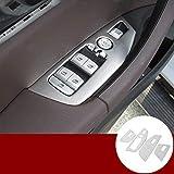Aplicar a X3 X4 G01 G02 2018-2020 Accesorios for automóviles Ventana de la Puerta Interior del Coche Interruptor de botón de Ajuste de la Cubierta