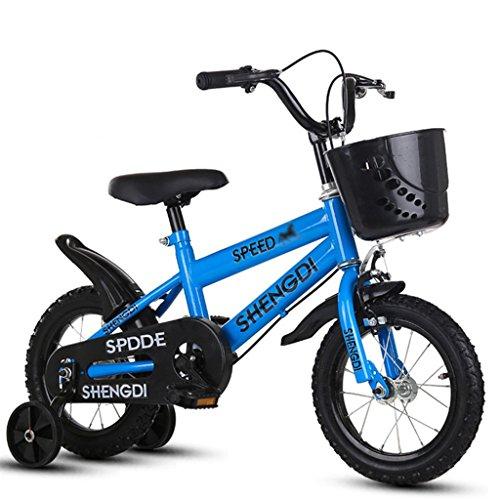 LiuJF Fitness Equipment beginnersfiets, jongens en meisjes fiets voor kinderen 2-8 jaar oude baby-extra fiets 88-115 cm