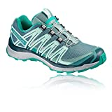 Salomon Xa Lite W, Chaussures de Trail Femme - Bleu (Trellis/Reflecting Pond/Tropical Green), 38 EU (5 UK)