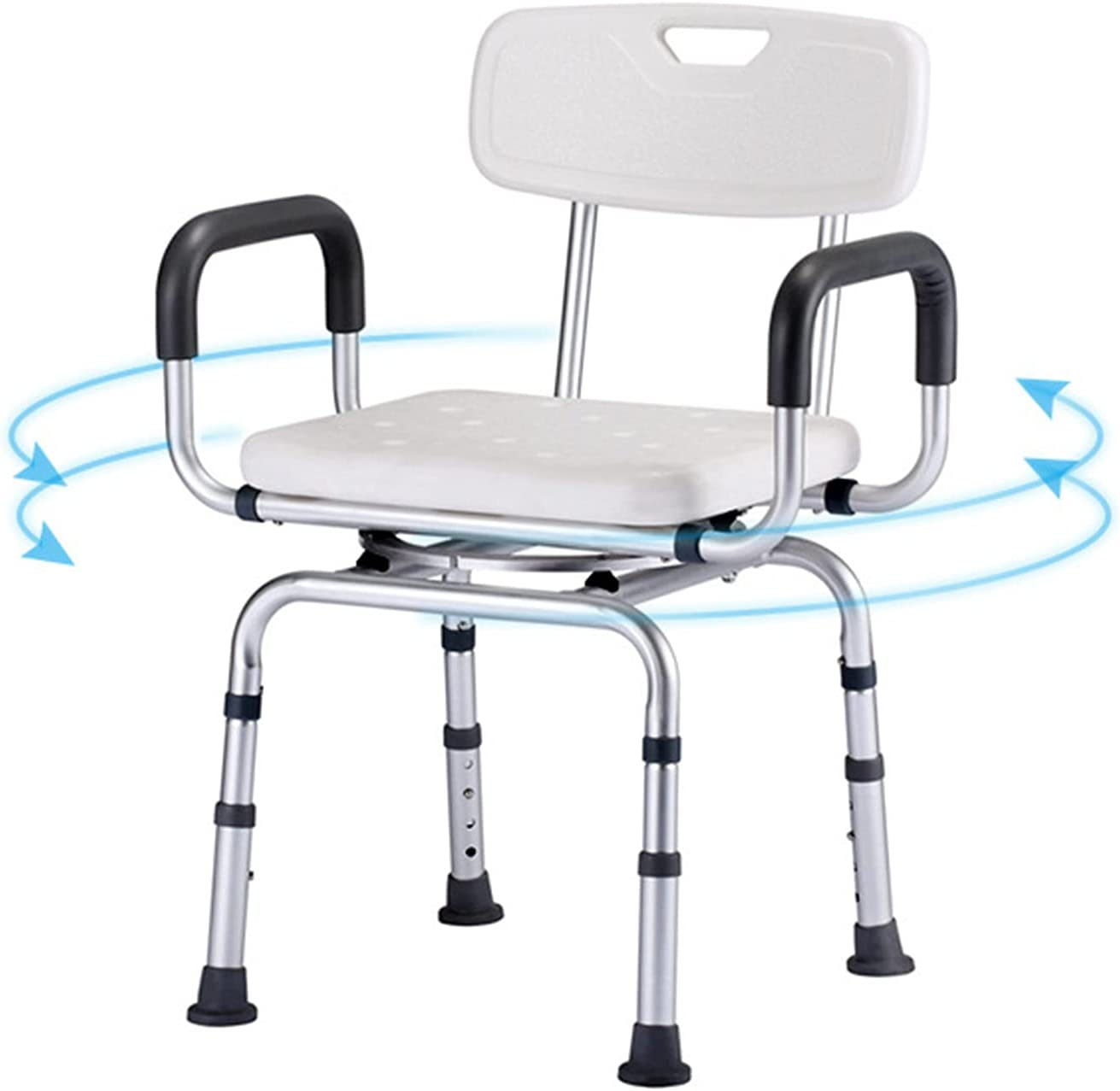 ZPTAT Shower Chair for Elderly Heavy High quality new Duty Courier shipping free shipping H Seat Swivels