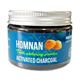 Hormnan : Activated Charcoal Powder,Teeth whitening,Organic and Natural air Purifier,Odor Remover and Home Made Product (80g/2.8oz)