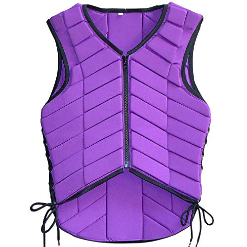 HILASON Small Equestrian Horse Vest Safety Protective Adult Eventing