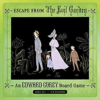 Escape from The Evil Garden  an Edward Gorey Board Game for 2-6 Players  Pomegranate