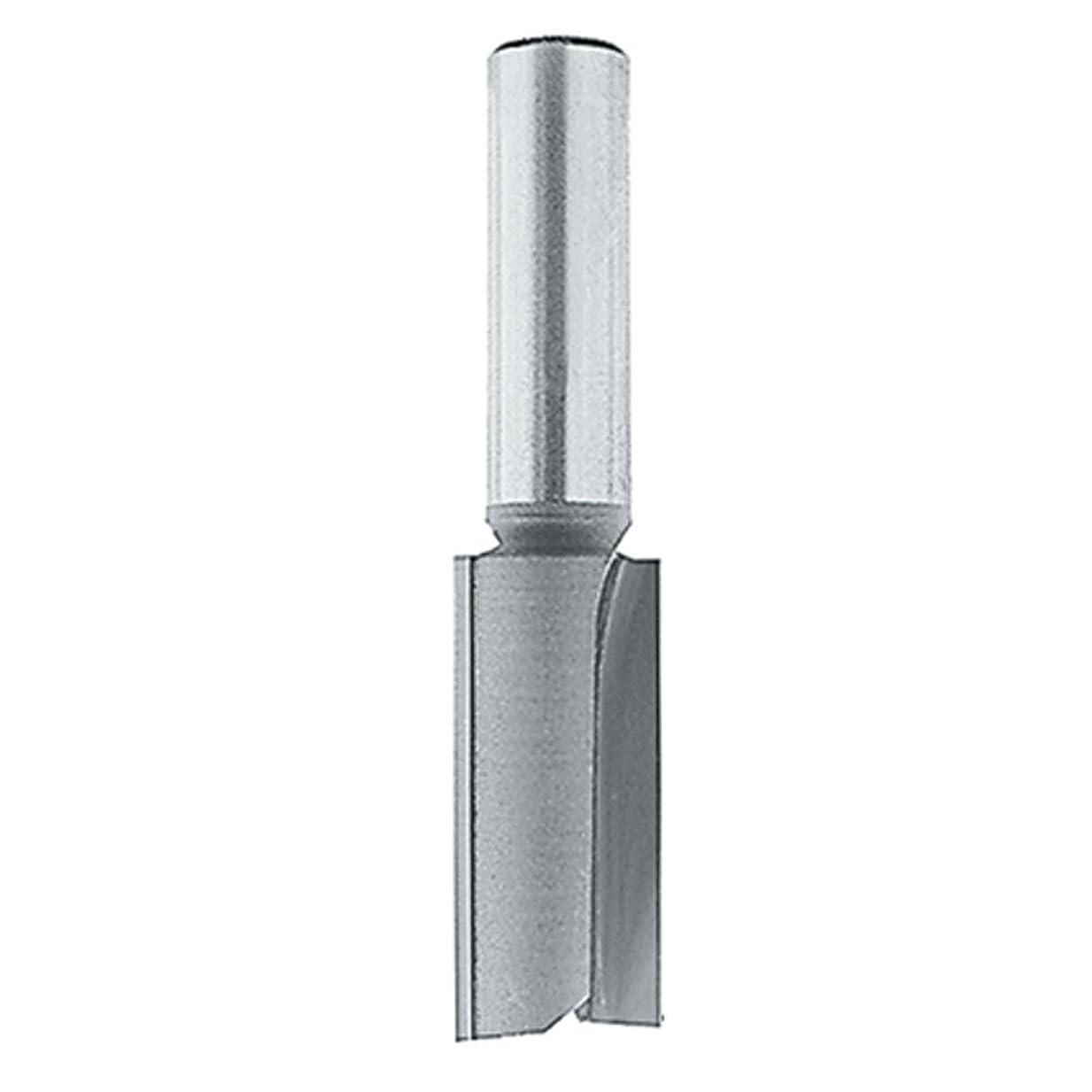 宿統合する興味Makita 733004-2A 1/2-Inch Straight Bit, 2 Cutting Flutes, 1/4-Inch Height Carbide Tip Router Bit by Makita