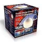 INtrenDU 4er Set LED Hängelampe Lampe Laterne Camping Zeltlampe Leuchte Lampion Flexibel