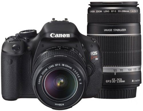 Canon デジタル一眼レフカメラ EOS Kiss X5 ダブルズームキット EF-S18-55mm EF-S55-250mm付属 KISSX5-WKIT