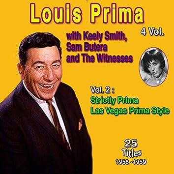 Louis Prima 4 Vol. - 100 Successes (Vol. 2: Strictly Prima, Las Vegas Prima Style)