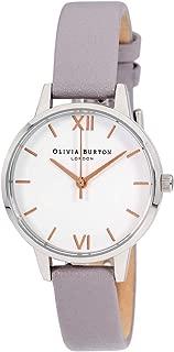 Olivia Burton Midi Quartz Movement White Dial Ladies Watch OB16MDW26