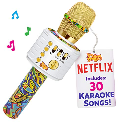 Bluetooth Karaoke Microphone Perfect Christmas Gifts for Kids, Toy for 4 5 6 7 8 year old Girls and Boys