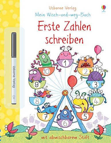 Mein Wisch-und-weg-Buch: Erste Zahlen schreiben: mit abwischbarem Stift