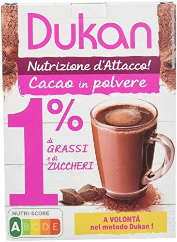 Dukan Cacao en Poudre 1% de Matières Grasses/Sucres 200 g