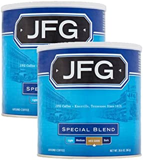 JFG 30.6 oz Canister Special Blend Ground Coffee, 2 Pack