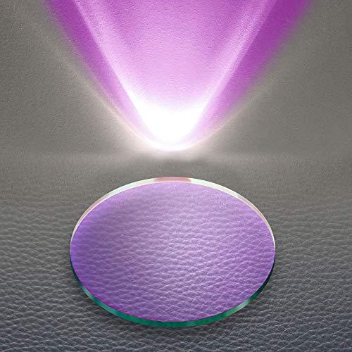 s.LUCE Farbfilter Unicorn Lila passend zu Beam Leuchtenzubehör Effektfilter Wandlampe Glaslinse Farbeffekt Linse