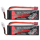 Best Battery For Note 3s - GOLDBAT 2200mAh 11.1V 3S 50C Lipo RC Battery Review