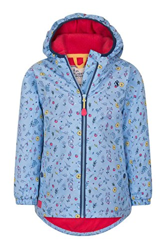 LightHouse Ava Coat Floral Woodland Print 3/4 Yrs