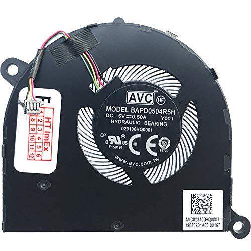 Ventilador de refrigeración para Lenovo Ideapad Yoga S940-14IWL (81Q7002AGE), S940-14IWL (81Q70029GE), S940-14IIL (81Q80017GE)