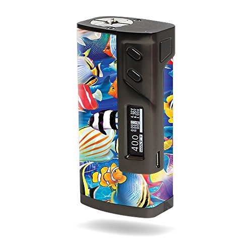 MightySkins Skin Compatible with Sigelei 213W TC – Tropical Fish   Protective, Durable, and Unique Vinyl Decal wrap Cover   Easy to Apply, Remove, and Change Styles   Made in The USA