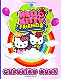 Hello Kitty And Friend Coloring Book: Hello Kitty And Friend