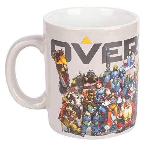 Overwatch JX7859 Taza Heroes Collide, Cerámica