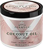 ROYAL FORMULA - Coconut Oil Hair Mask Deep Conditioner & Hydrating Hair Treatment - Repairs Dry Damaged, Color Treated & Bleached Hair - Hydrates & Stimulates Hair Growth, (8 Oz)
