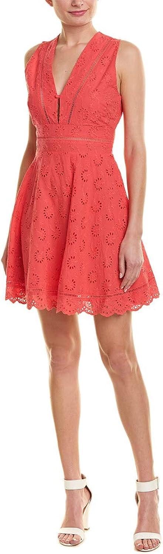 BB Dakota Women's Vianne VNeck Eyelet Dress