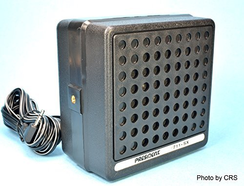 4 Inch 10 Watt External CB Radio Speaker - Workman 711-SX