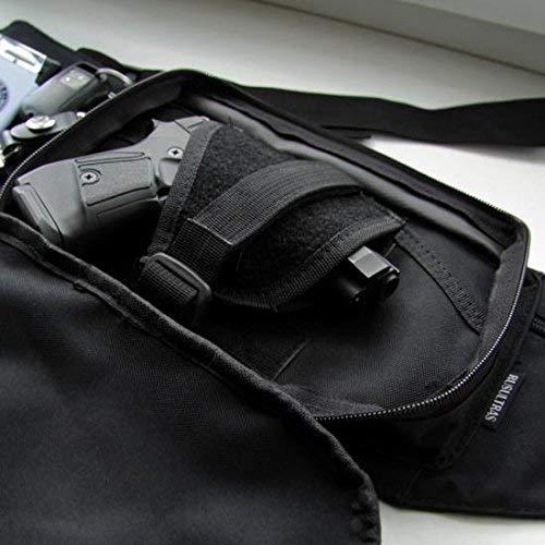 MFH Marsupio con Fondina Interna per Beretta 92-98 - Glock 17-19 - Nero