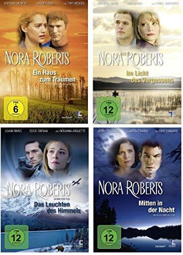 Nora Roberts DVD Set, deutsch - Ein Haus zum Träumen + Im Licht des Vergessens + Das Leuchten des Himmels & Mitten in der Nacht