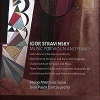 イタリア組曲、ディヴェルティメント、デュオ・コンチェルタント、他 ブルーノ・モンテイロ、ジョアン・パオロ・サントス