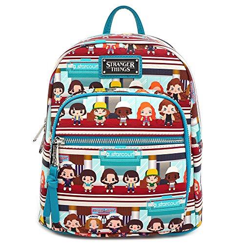 Loungefly Stranger Things Starcourt Chibi Mini Backpack
