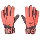 NIKE Jr. Match Goalkeeper Guantes, Unisex Adulto, Bright Mango/Black/Orange Pulse, 6