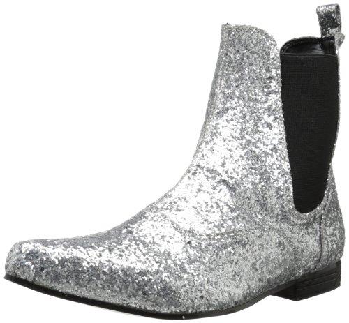 Pleaser Chelsea-58G, Ankle boots sans doublure homme - Argent - Argenté - 40-41 EU (7.5 UK)