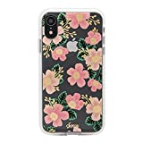 Sonix Southern Floral Case for iPhone XR [Military Drop Test Certified] Women's Protective Pink Flower Clear Case for Apple iPhone XR