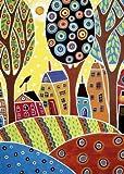 Educa 16732 - Puzzle, Houses Barn Landschaft, 500 teilig
