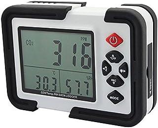 Doradus HT-2000Medidor portátil de 9999ppm de CO2Monitor analizador de gas detector de temperatura humedad relativa Prueba