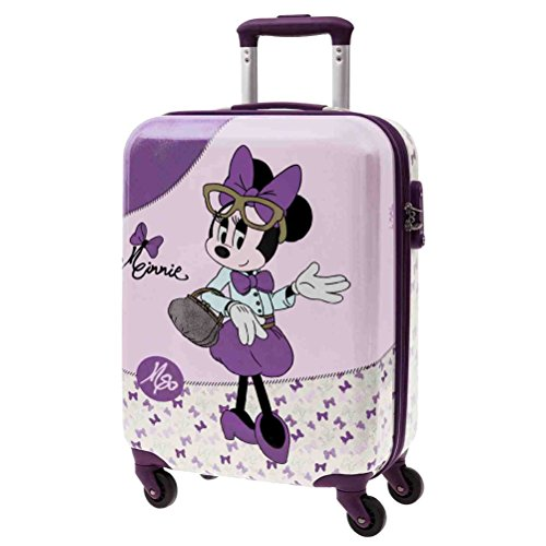 Disney - MINNIE GLAM - Equipaje Infantil para niña - 33L - 55cm