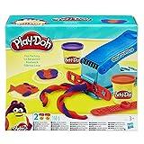 Hasbro B5554 Play-Doh - Exprimidor para amasar (incluye 2 latas de plastilina)
