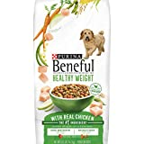 Purina Beneful Healthy Weight Dry Dog Food, Healthy Weight With Real Chicken - 31.1 lb. Bag