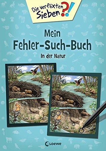 Die verflixten Sieben - Mein Fehler-Such-Buch - In der Natur