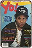 Keviewly for Patio Wine Cellar Ranch Yard Barber Shop Garage Retro Style Wall Decor Yo! Hip-Hop Magazine Vintage Eazy-E Cover Tin Sign 8 x 12 Metal Signs Vintage