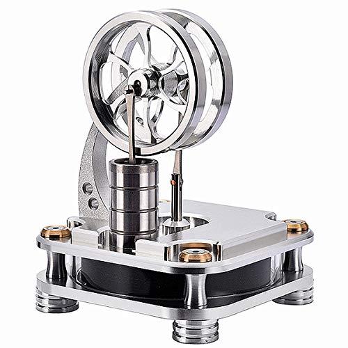 MOTECH Tieftemperatur Stirlingmotor Motormodell, Dampfwärmeleistungsmodell Scientific Mechanic Model Kit (D16-C)
