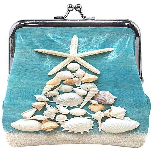 Árbol de Navidad Hecho de Conchas Marinas y Estrellas de mar en...
