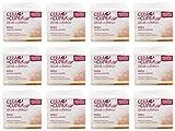 Cera di Cupra Plus'Rosa per Pelli Secche' Cream for Dry Skin, Anti-age Formula - 3.4 Fluid Ounces (100ml) Jars (Pack of 12) [ Italian Import ]