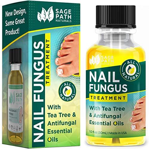 Toenail Fungus Treatment: All-Natural Healing for Fungal Toe Nails, USA Made - Extra Strength Tea Tree & Essential Oil Antifungal (New Design, Same Great Formula)