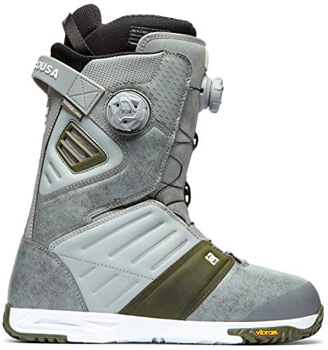 DC Judge BOA Snowboard Boots Mens Sz 10 Grey