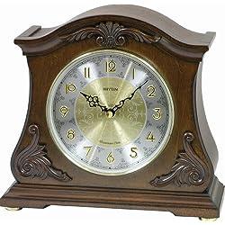 Rhythm Clocks Versaillies II Wooden Musical Mantel Clock