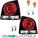 DM Autoteile Polo 9N3 9N Rückleuchten Heckleuchten Links Rechts 05-09 + Leuchtmittel SET