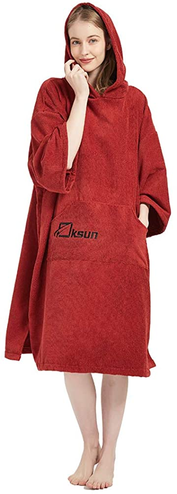Oksun Changing Popular product Robe Towel Poncho with Swimming Hood for Beach Year-end annual account