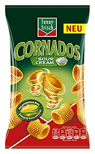 funny-frisch  Cornados Sour Cream, 14er Pack (14 x 80 g)