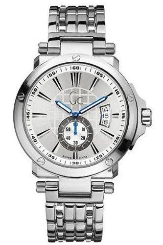 GC X65001G1S - Orologio da polso, cinturino in acciaio inox colore argento